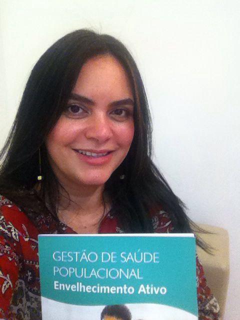 Dra. Patricia Cristina, co-autora no caderno ASAP sobre envelhecimento